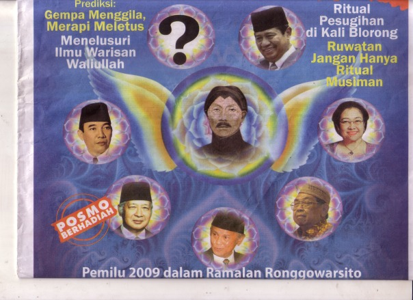 Satria Pinandita Presiden Terpilih 2009