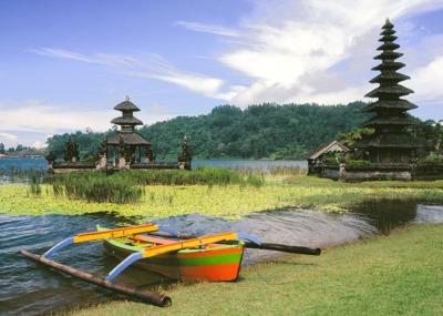 Bali Landscape dilihat dari atas